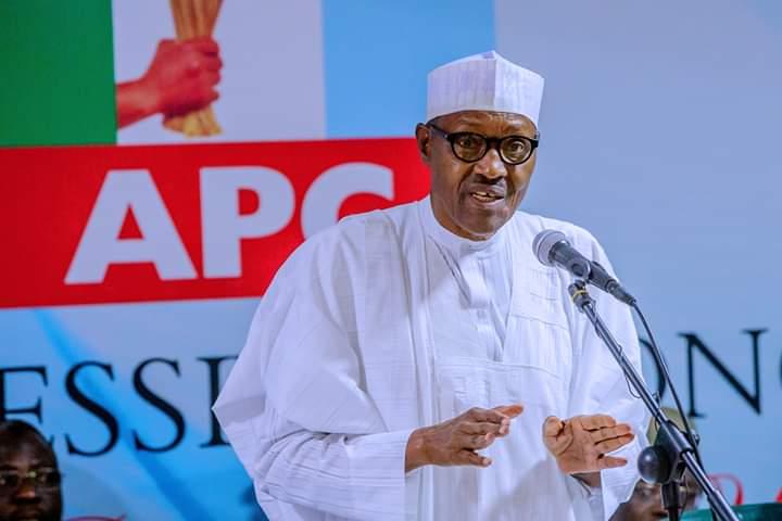 Buhari APC Meeting Okay Nigeria - Snatch ballot boxes at the risk of your life - Buhari warns at APC caucus meeting