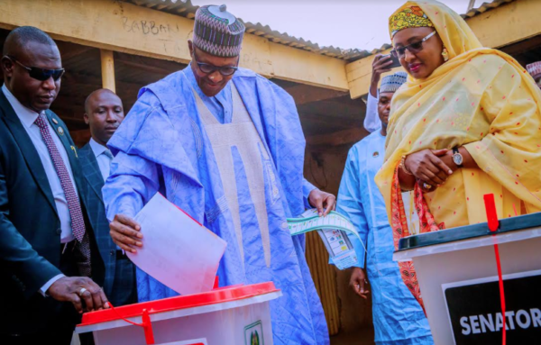 What Buhari said after voting in Daura [Read]