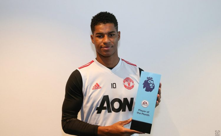 Marcus Rashford wins Premier League player of the month award for January - OkayNG News