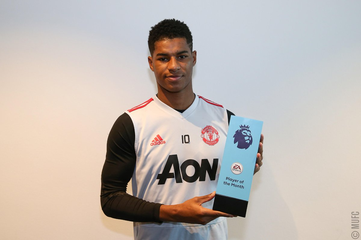 Photo of Marcus Rashford wins Premier League player of the month award for January