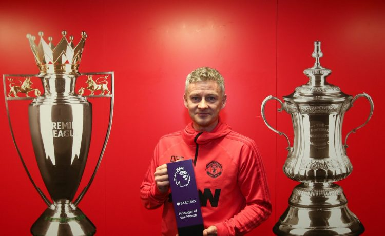 Ole Gunnar Solskjaer wins Premier League manager of the month for January - OkayNG News