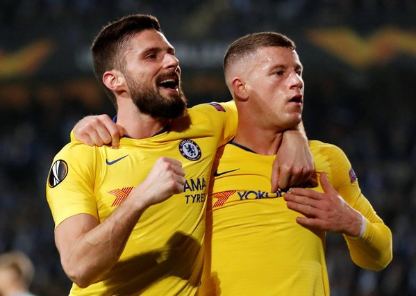 DzZb2PLWkAA V7 - Chelsea: Sarri shower praises on Ross Barkley ahead of Sunday's away game against Cardiff