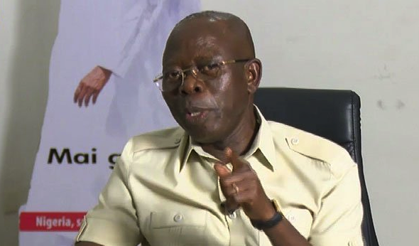 Oshiomhole Channels TV Okay Nigeria - Obasanjo does not have right to classify Buhari as a dictator, says Oshiomhole