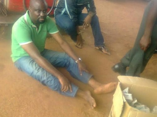 Man arrested with 2000 PVCs in Edo [Photo]