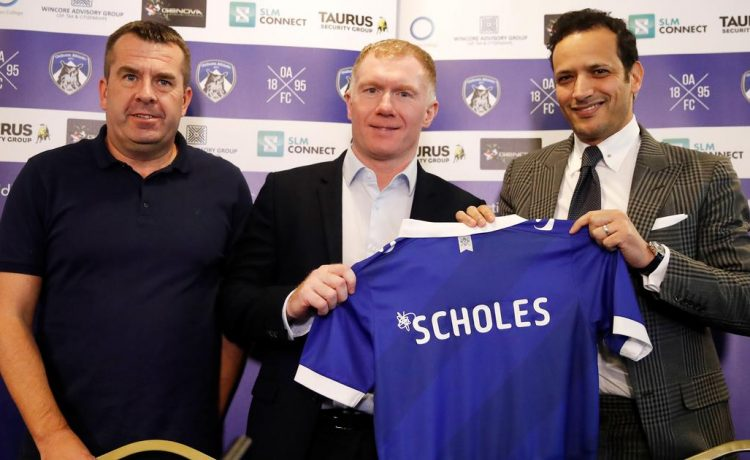 Paul Scholes gets managerial job in England - OkayNG News