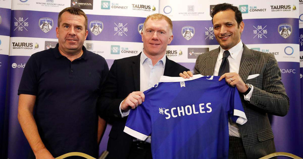 PaulScholes Oldham Athletic Okay ng - Paul Scholes gets managerial job in England