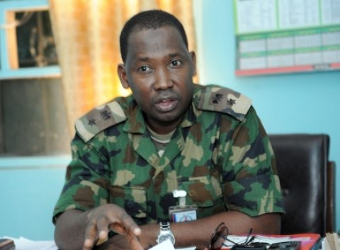 Sagir Musa Okay ng - Col. Sagir Musa appointed new spokesman of the Nigeria Army