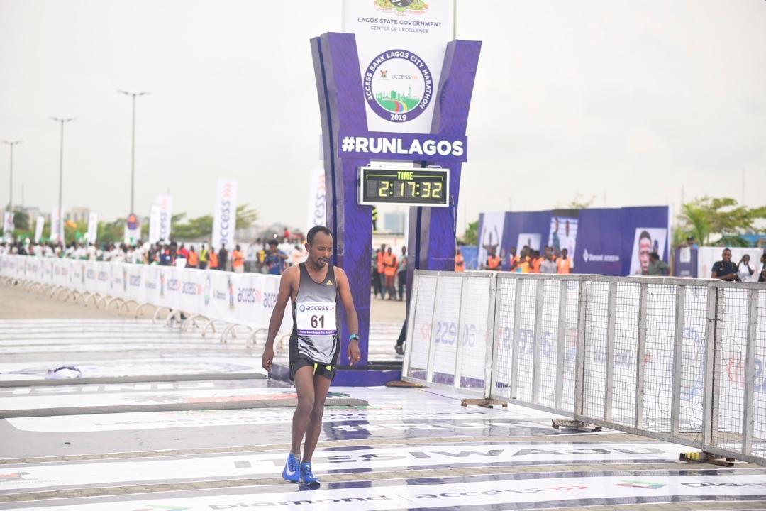 Photo of Ethiopia's Sintayehu Legese wins 4th edition of Lagos City marathon