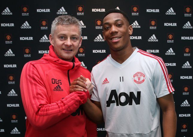 Martial has the talent to be at Ronaldo's level, says Solskjaer - OkayNG News