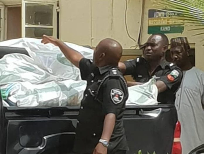 Photo of JUST IN! Police recover 17 sacks containing thumb-printed ballot papers in Kano