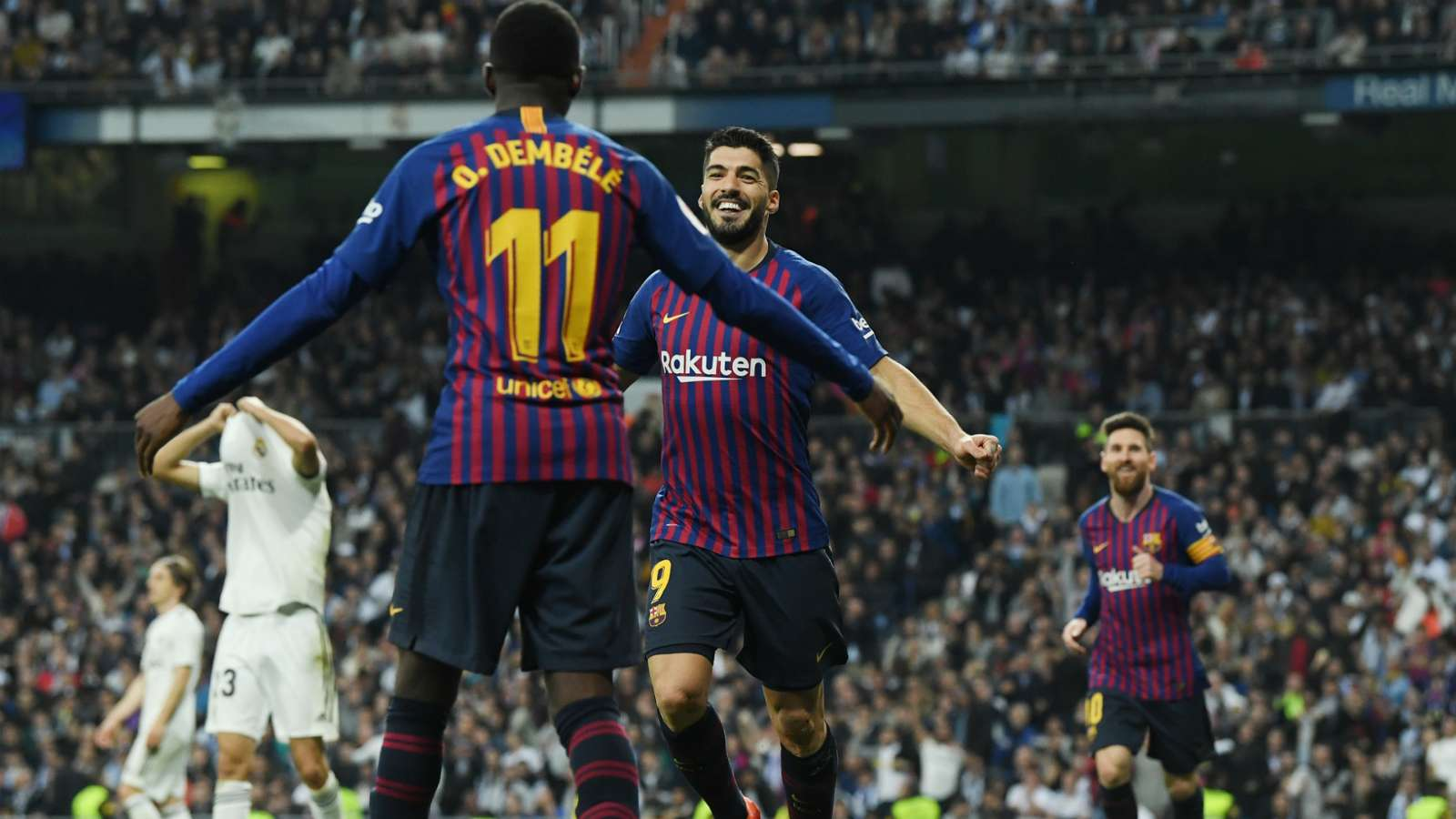 luis suarez  - Real Madrid vs Barcelona 0-3 (1-4 agg): Copa Del Rey Match Report & Highlights