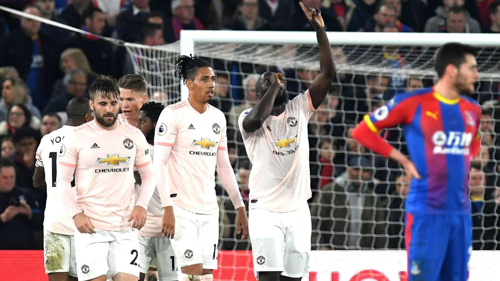 lukaku Okay NG - Crystal Palace vs Manchester United 1-3: Premier League Match Report & Highlights [Watch Video]