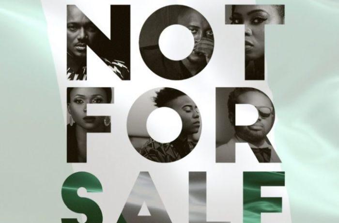 "2Baba, MI Abaga, Teni, Waje, Chidinma, Cobhams team up for 2019 Elections song ""Not for Sale"" - OkayNG News"