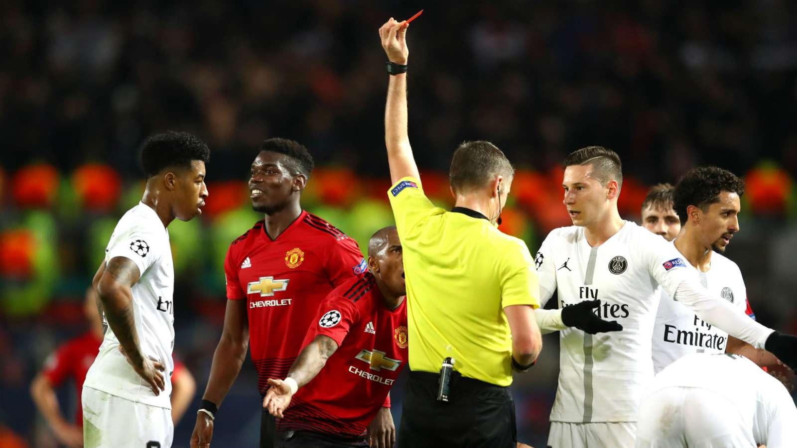 paulpogba cropped fwqjp42hrs721c1i6osbgsv28 - Manchester United vs Paris Saint-Germain 0-2: UEFA Champions League Match Report & Highlights