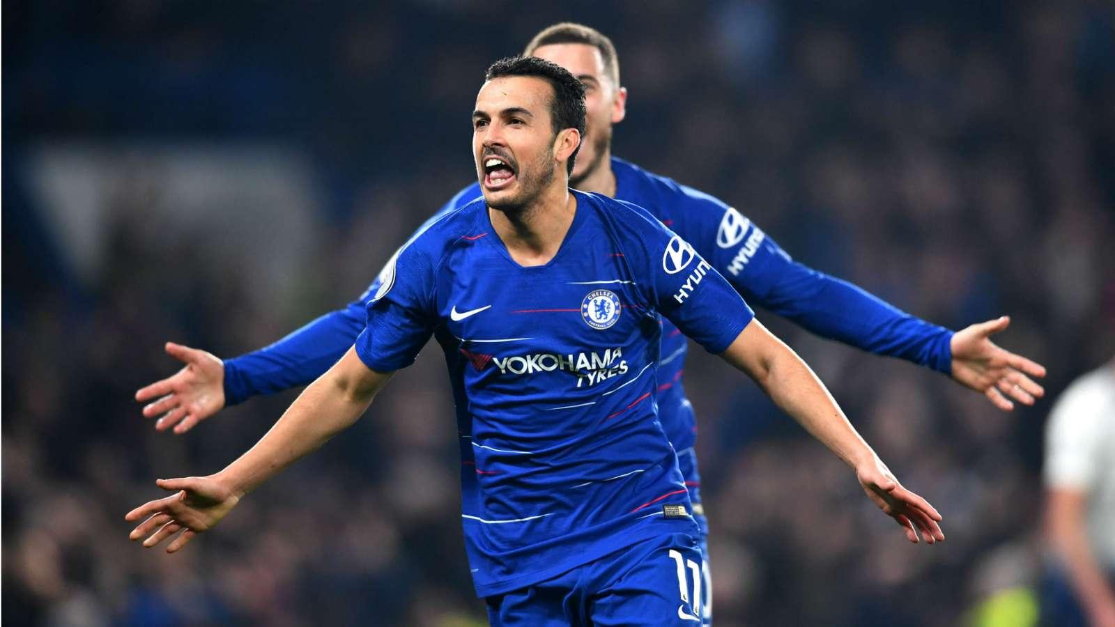 pedro cropped 1szdcq0sa9slq1nzqhgr5kpq74 - Chelsea vs Tottenham 2-0: Premier League Match Report & Highlights [Watch Video]