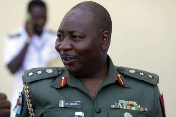 sani usman 696x464 - Army Spokesman, Sani Usman voluntary retires from service