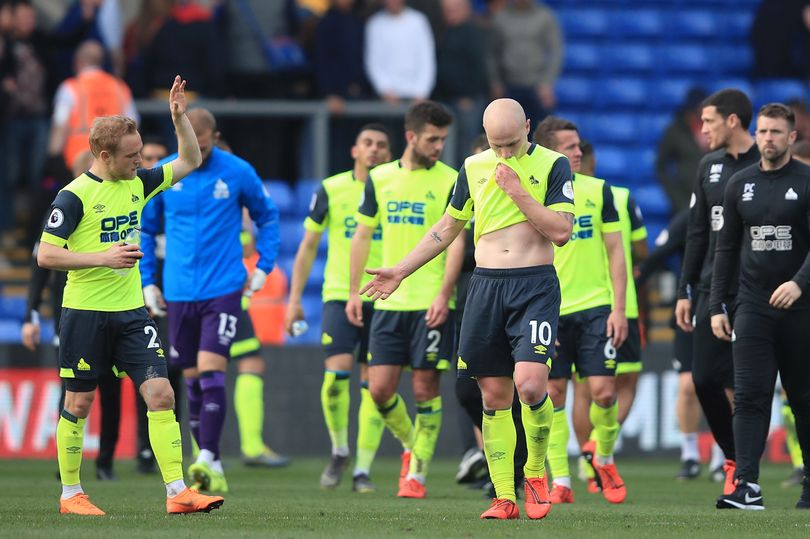 0 Crystal Palace v Huddersfield Town Premier League - Huddersfield Town officially relegated from the Premier League