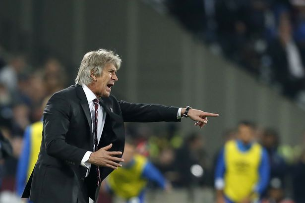 0 FBL ENG PR WEST HAM EVERTON - Manuel Pellegrini angry with players over defeat against Everton