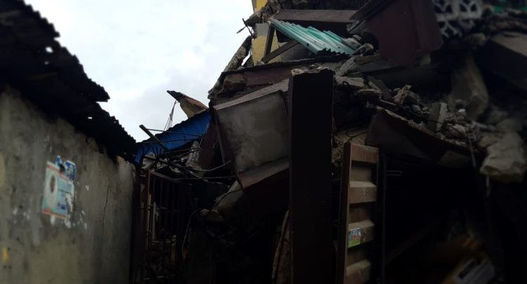 Photo of Photos from scene of Another storey building that collapsed in Lagos Island