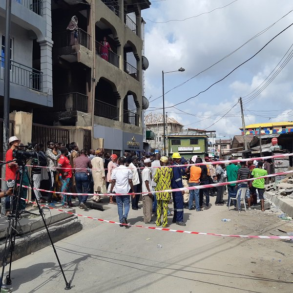 20190325 153333 - Photos from scene of Another storey building that collapsed in Lagos Island