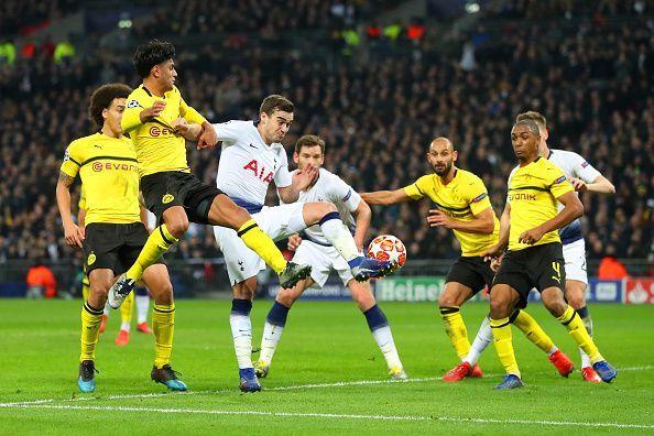 Champions League: Borussia Dortmund vs Tottenham Hotspur – Official Starting Line-up