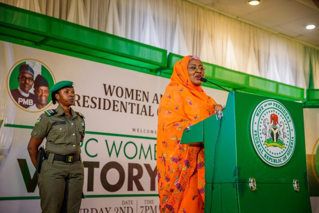 """My husband will eliminate the gap between rich and poor"", Aisha Buhari assures Nigerians"
