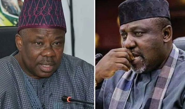 Amosun and Okorocha - JUST IN! APC suspends Okorocha, Amosun over anti-party activities