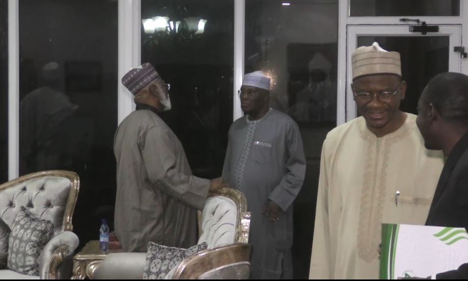National Peace Committee meets with Atiku, PDP leadership in Abuja [Photos]