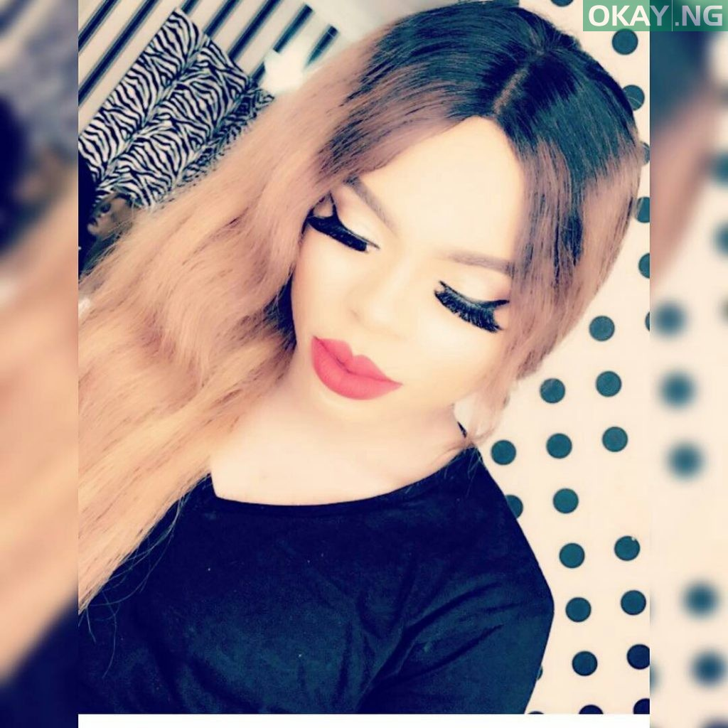 """""""Who is Bobrisky?"""", the Nigerian male baby doll writes"""