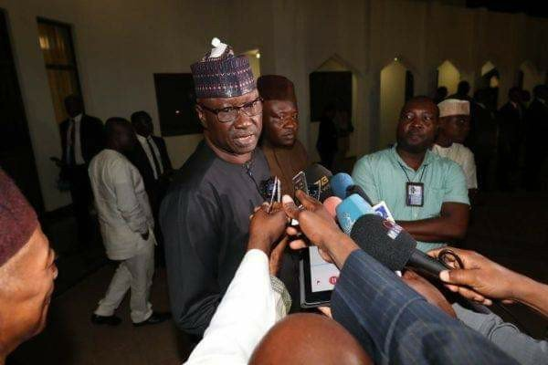"Boss Mustapha Okay ng - ""Buhari's tough decisions in second term for Nigeria's interest"", says SGF"