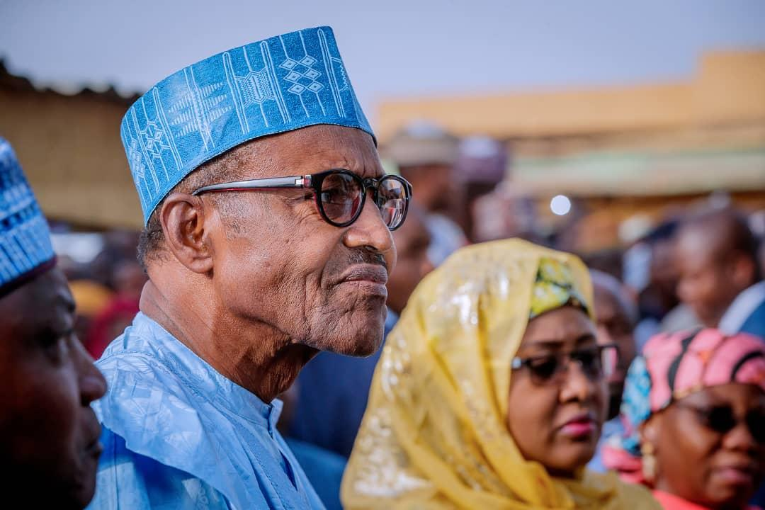Buhari in Daura Okay ng - Buhari finally speaks on Atiku's court case on presidential election outcome