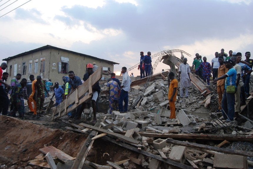 Storey building collapses in Ibadan, no death recorded