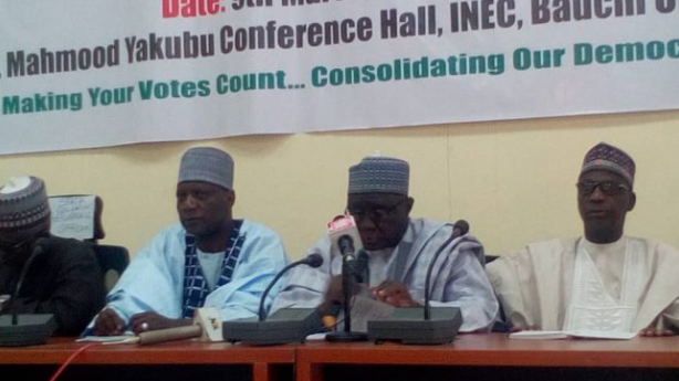 D2hfeIXWoAIruPa - INEC resumes collation of governorship results in Bauchi