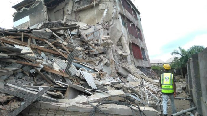 Photo of JUST IN! Another storey building collapses in Lagos