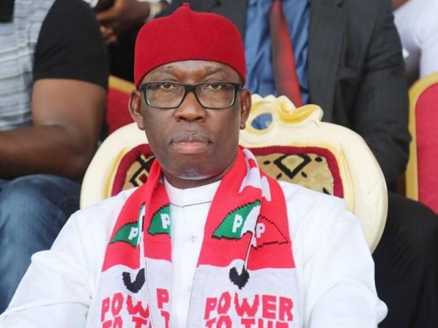 Ifeanyi Okowa Okay ng - JUST IN! PDP's Ifeanyi Okowa declared winner of 2019 governorship election in Delta