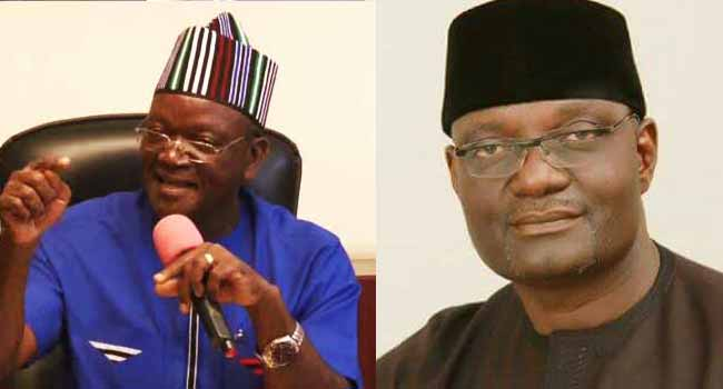 Jime and ortom - Benue 2019: Official supplementary election results - LIVE UPDATES