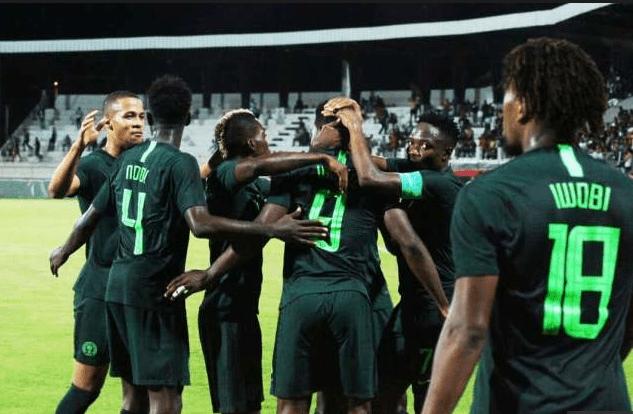 Nigeria Super Eagles Okay - Nigeria defeats Egypt 1-0 in international friendly