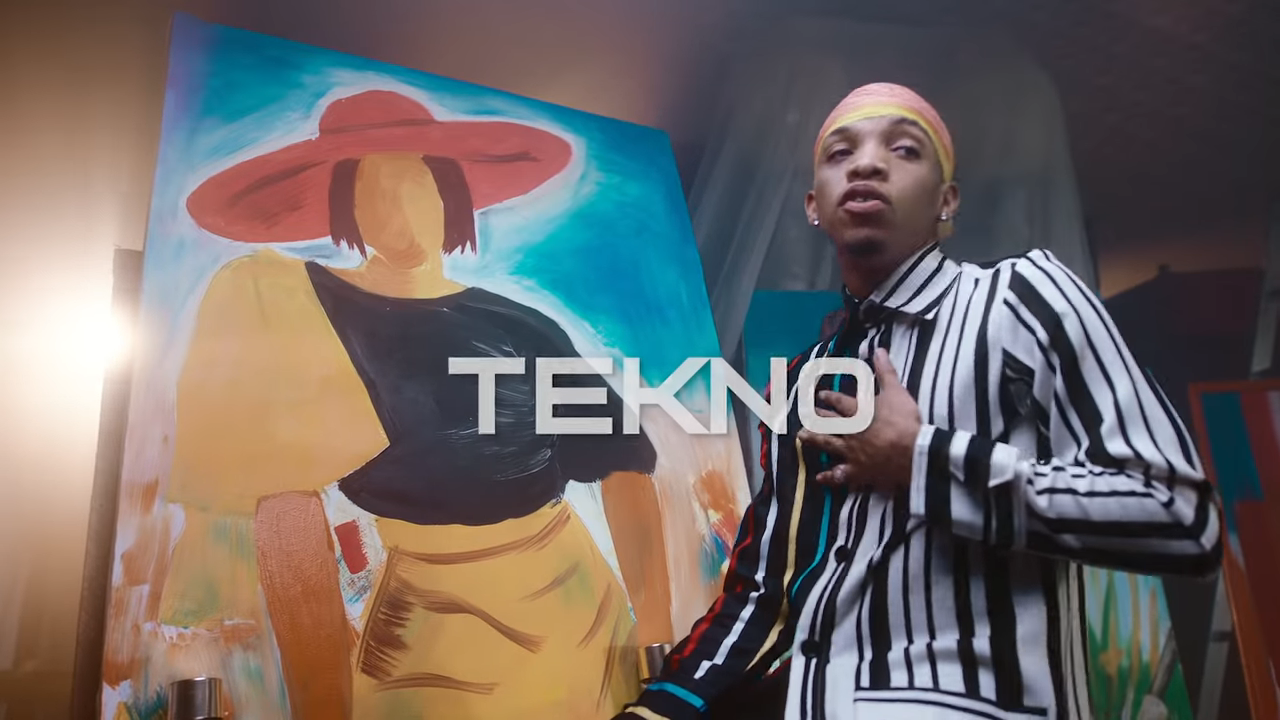 Woman video by Tekno