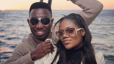 Timi Dakolo and wife Okay ng 390x220 - Timi Dakolo praises wife as they celebrate their 7th wedding anniversary