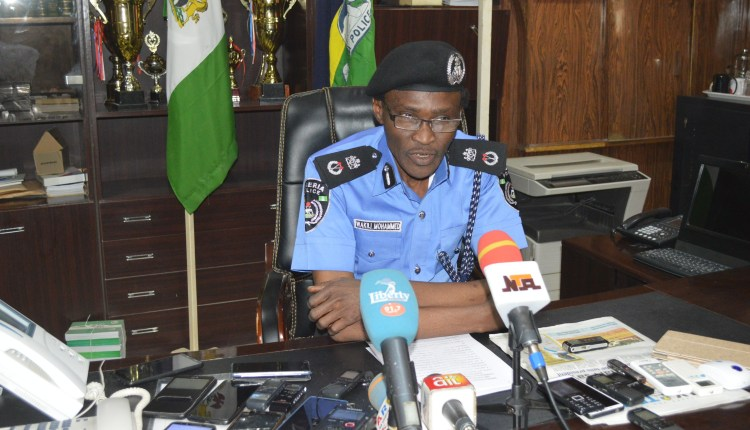 Wakili Mohammed Okay ng - Police arrest commissioner for leading thugs to disrupt election in Kano
