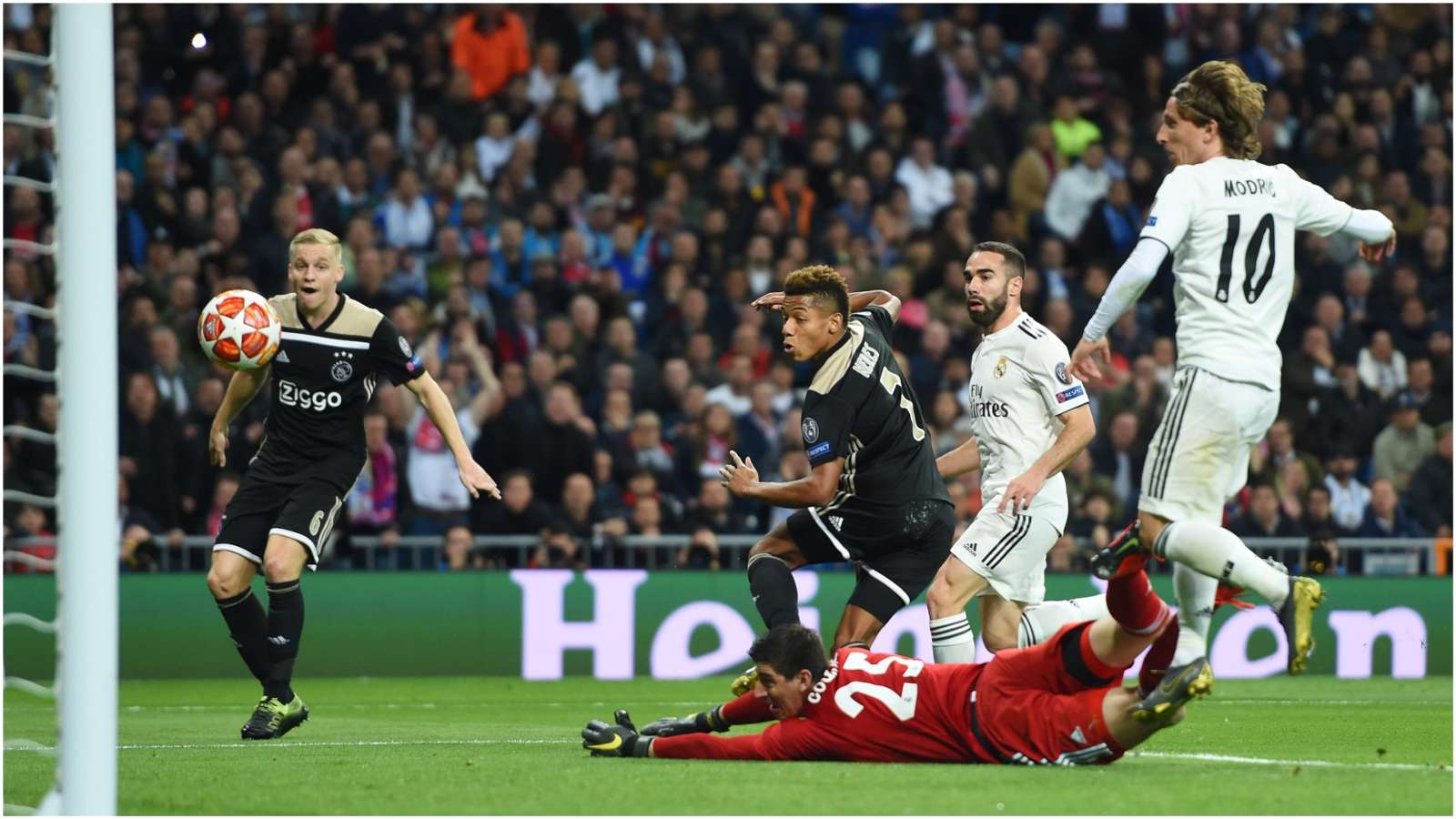 Real Madrid vs Ajax 1-4 (3-5 agg): UEFA Champions League Report & Highlights