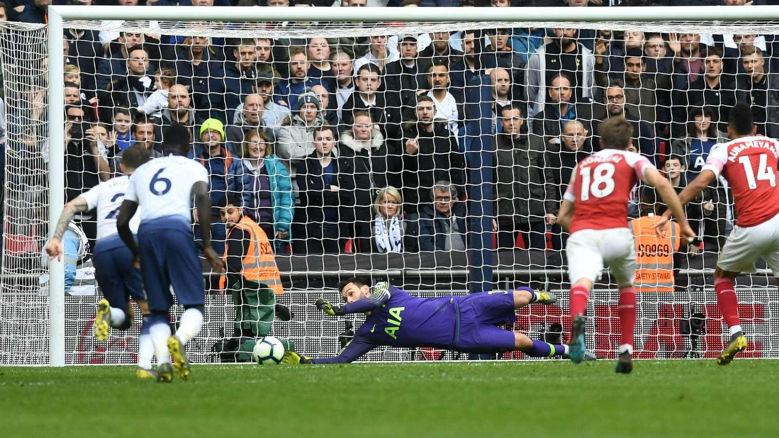 hugo lloris cropped df8h3ckjxql31iecpo2jtdtee - Tottenham vs Arsenal 1-1: PREMIER LEAGUE Match Report & Highlights [Watch Video]