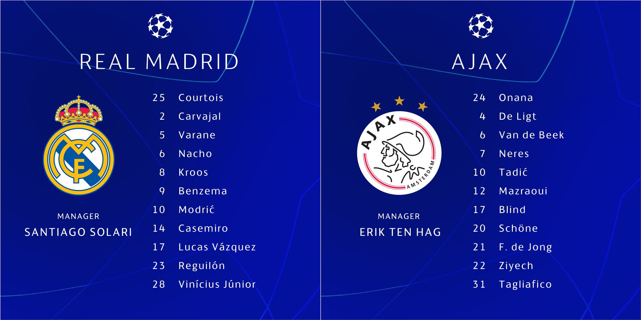 imgonline com ua twotoone nmrXwTUUQWL - Champions League: Real Madrid vs Ajax  – Official Starting Line-up