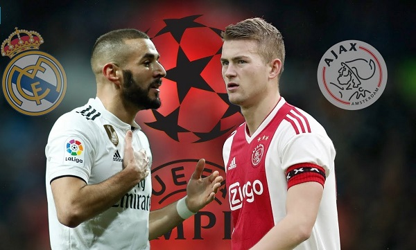 real madrid vs ajax prediction team news lineups 1551733191 - Champions League: Real Madrid vs Ajax  – Official Starting Line-up