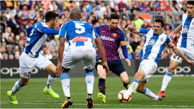 sanchezmessi cropped 6o6nkfrlqfzv1k7vglxgxwslg 390x220 - Messi set new La Liga record with Barcelona 2-0 win over Espanyol