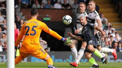 sergioaguero cropped 13xwzl5jkp8ly1vu24kjbsfyac 390x220 - Manchester City through Fulham with 2-0 win: Premier League Highlights [Video]