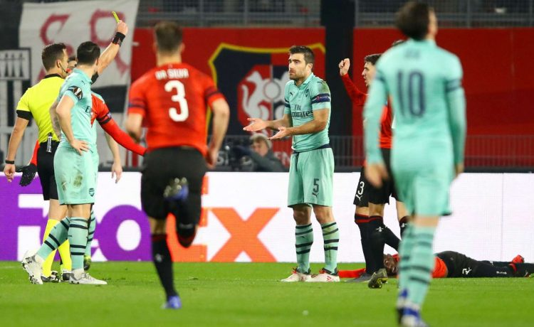 Arsenal Rennes Picture: Rennes Vs Arsenal 3-1: UEFA Europa League Report
