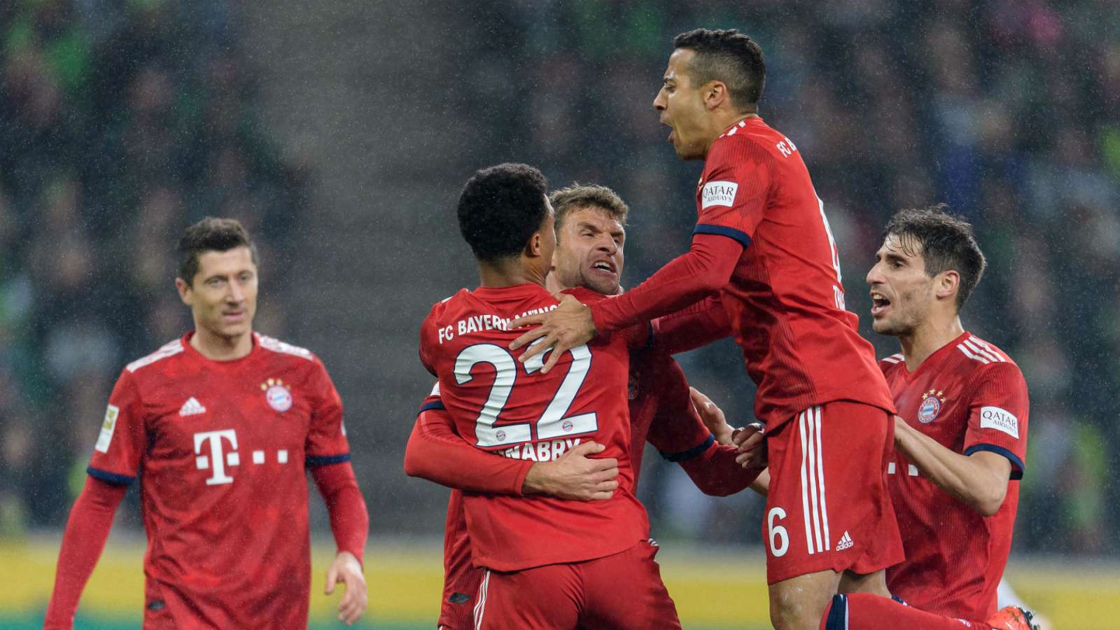 thomas muller Okay ng - Borussia Monchengladbach vs Bayern Munich 1-5: Bundesliga Match Report & Highlights