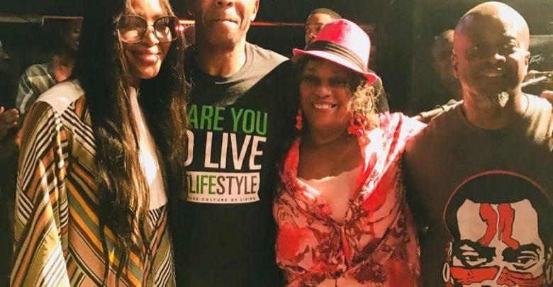 Photo of Naomi Campbell visits Fela's Afrika Shrine in Lagos [Photos]