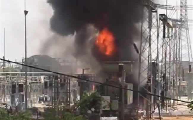 Photo of Fire guts Abuja power transmission station